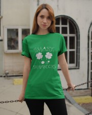 Shake Your Shamrock - St Patrick's Day  Classic T-Shirt apparel-classic-tshirt-lifestyle-19