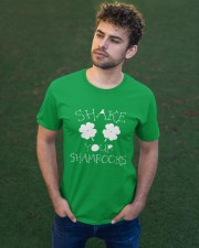 Shake Your Shamrock - St Patrick's Day  Classic T-Shirt apparel-classic-tshirt-lifestyle-front-43