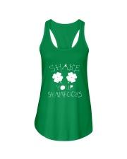 Shake Your Shamrock - St Patrick's Day  Ladies Flowy Tank thumbnail