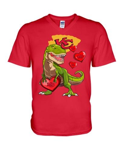 T-rex Kansas City Football Team Fans