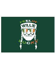 Feeling Willie Lucky Irish Flag St Patrick's Day Horizontal Poster tile