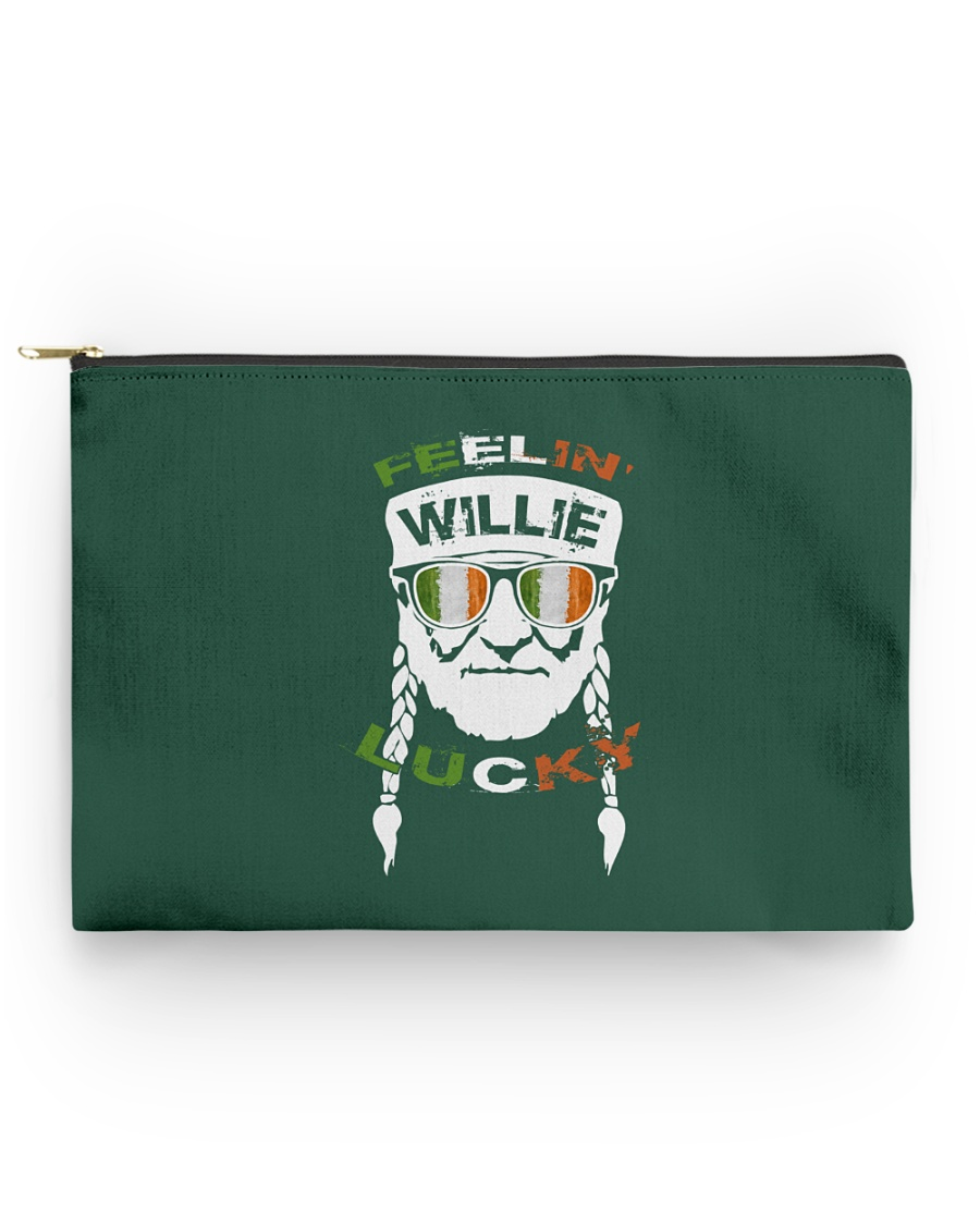 Feeling Willie Lucky Irish Flag St Patrick's Day Accessory Pouch - Standard