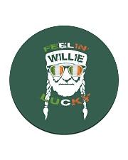 Feeling Willie Lucky Irish Flag St Patrick's Day Circle Coaster thumbnail
