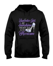 September Girls Are Sunshine Mixed With  Hurricane Hooded Sweatshirt tile