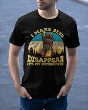 I Make Beer Disappear It's My Superpower Camping Classic T-Shirt apparel-classic-tshirt-lifestyle-front-46