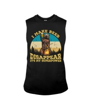 I Make Beer Disappear It's My Superpower Camping Sleeveless Tee thumbnail