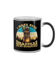 I Make Beer Disappear It's My Superpower Camping Color Changing Mug thumbnail