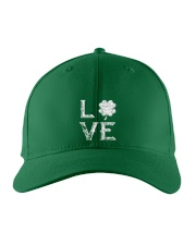 Vintage Love Shamrock Irish St Patrick's Day Embroidered Hat thumbnail