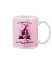 In October I Wear Pink For My Nana Gnome Breast  Mug tile