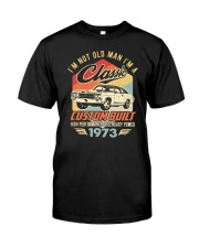 Classic Car - 47 Years Old Matching Birthday Tee  Classic T-Shirt front