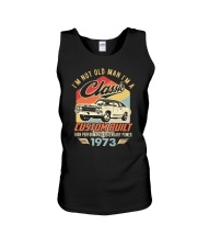 Classic Car - 47 Years Old Matching Birthday Tee  Unisex Tank thumbnail