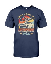 Classic Car - 55 Years Old Matching Birthday Tee  Premium Fit Mens Tee front