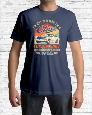Classic Car - 55 Years Old Matching Birthday Tee  Premium Fit Mens Tee lifestyle-mens-crewneck-front-1