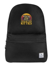 Vintage Show Me Your Kitties Shirt Backpack thumbnail