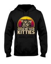 Vintage Show Me Your Kitties Shirt Hooded Sweatshirt thumbnail