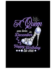 A Queen Was Born In December  Happy Birthday  11x17 Poster thumbnail