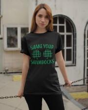 Shake Your Shamrock St Patrick's Day -Unisex Shirt Classic T-Shirt apparel-classic-tshirt-lifestyle-19