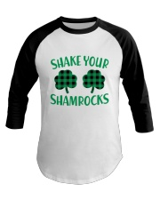 Shake Your Shamrock St Patrick's Day -Unisex Shirt Baseball Tee thumbnail