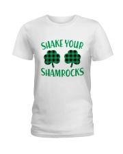 Shake Your Shamrock St Patrick's Day -Unisex Shirt Ladies T-Shirt thumbnail