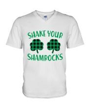 Shake Your Shamrock St Patrick's Day -Unisex Shirt V-Neck T-Shirt thumbnail