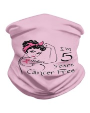 I'm 5 Years Cancer Survivor Breast Cancer  Neck Gaiter thumbnail