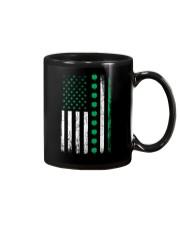 St Patricks Day Irish American Flag Mug thumbnail