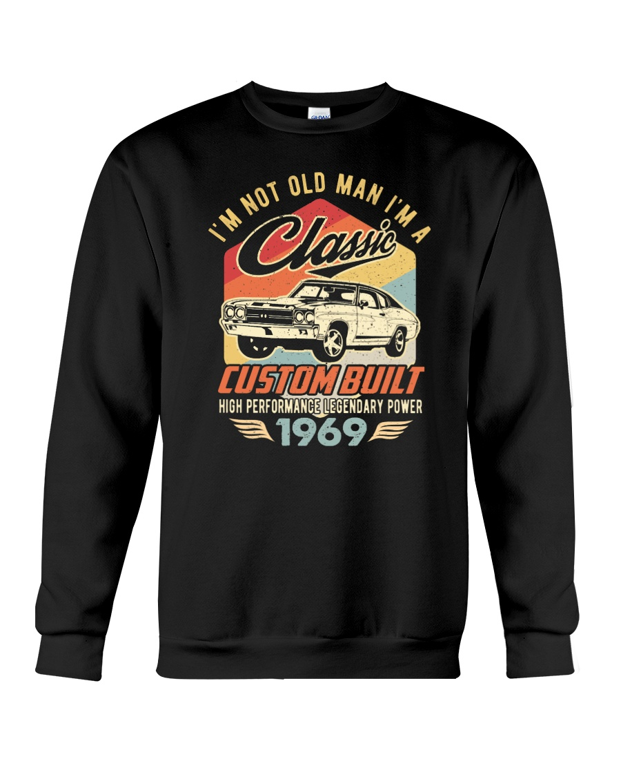 Classic Car - 51 Years Old Matching Birthday Tee  Crewneck Sweatshirt