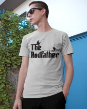 The Rodfather Funny Parody Fishing Classic T-Shirt apparel-classic-tshirt-lifestyle-17