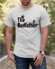 The Rodfather Funny Parody Fishing Classic T-Shirt apparel-classic-tshirt-lifestyle-front-53