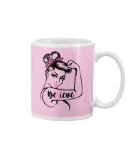 Breast Cancer Warrior Awareness Support Believe Mug thumbnail