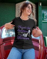 November Girls Are Sunshine Mixed With Hurricane Ladies T-Shirt apparel-ladies-t-shirt-lifestyle-01