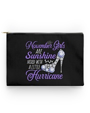 November Girls Are Sunshine Mixed With Hurricane Accessory Pouch - Standard thumbnail