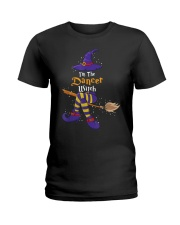 I'm The Dancer Witch Halloween Costume Lovers Ladies T-Shirt front