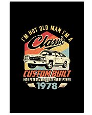 Classic Car - 42 Years Old Matching Birthday Tee  11x17 Poster front
