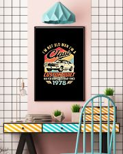 Classic Car - 42 Years Old Matching Birthday Tee  11x17 Poster lifestyle-poster-6