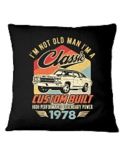 Classic Car - 42 Years Old Matching Birthday Tee  Square Pillowcase thumbnail
