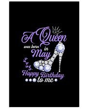 A Queen Was Born In May Happy Birthday to Me  11x17 Poster thumbnail