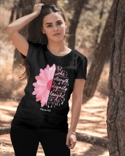 Breast Cancer Awareness Religious Pink Ribbon Ladies T-Shirt apparel-ladies-t-shirt-lifestyle-06