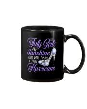 July Girls Are Sunshine Mixed With Hurricane Mug thumbnail