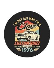 Classic Car - 44 Years Old Matching Birthday Tee  Circle Coaster thumbnail