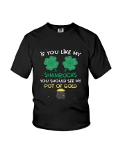If You Like My Shamrocks St Patrick's Day  Youth T-Shirt thumbnail
