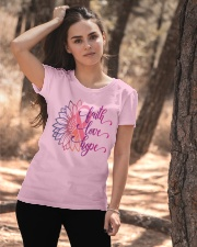 Faith Hope Love Daisy Flower Breast Cancer Ladies T-Shirt apparel-ladies-t-shirt-lifestyle-06