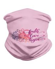 Faith Hope Love Daisy Flower Breast Cancer Neck Gaiter thumbnail