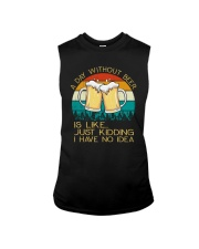 Day Without Beer - Funny Beer Drinking Lover Gift Sleeveless Tee thumbnail