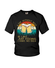 Day Without Beer - Funny Beer Drinking Lover Gift Youth T-Shirt thumbnail