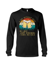 Day Without Beer - Funny Beer Drinking Lover Gift Long Sleeve Tee thumbnail