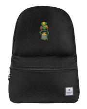 Frog Leprechaun Pot Of Gold Shamrock St Patrick's Backpack thumbnail