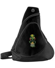 Frog Leprechaun Pot Of Gold Shamrock St Patrick's Sling Pack thumbnail