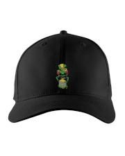 Frog Leprechaun Pot Of Gold Shamrock St Patrick's Embroidered Hat thumbnail