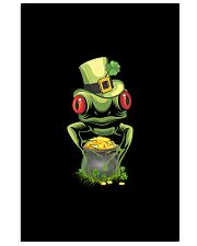 Frog Leprechaun Pot Of Gold Shamrock St Patrick's 11x17 Poster thumbnail